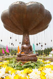 Eine Buddha-Statue Lizenzfreies Stockfoto