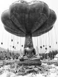 Eine Buddha-Statue Lizenzfreie Stockfotografie