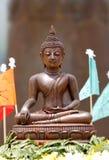 Eine Buddha-Statue Stockfoto