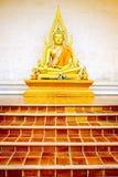 Eine Buddha-Statue Lizenzfreie Stockbilder