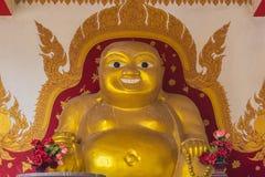 Eine buddhistische Statue Lizenzfreies Stockbild