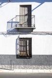 Eine bunte Fassade Lizenzfreies Stockfoto