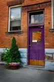 Eine bunte und kreative Tür Lizenzfreie Stockfotos