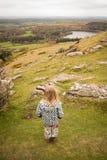 Eine childs Aussicht Stockbild