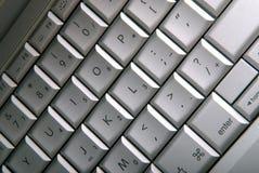Eine Computertastatur Lizenzfreies Stockbild