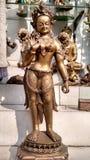 Eine Dame Vintage Sculpture Lizenzfreie Stockfotos