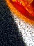 Eine Definition der Farbe: orange Lizenzfreies Stockbild