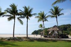 Eine der szenischen Ansichten Rasa Ria Resorts u. des Badekurortes, lizenzfreie stockfotografie