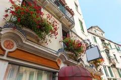Eine der vielen Straßen von Venedig, Italien Lizenzfreie Stockfotografie