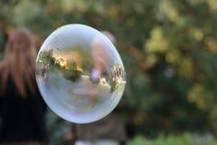 Eine diagonale Blase Stockfoto