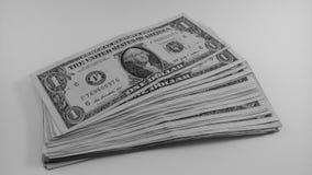 Eine Dollaranmerkung Stockfotos