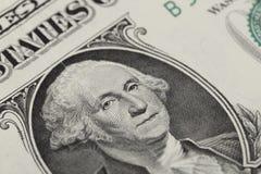 Eine Dollarbanknote Lizenzfreie Stockbilder