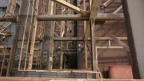 Eine Draufsicht der industriellen Baustelleneinrichtung Lizenzfreie Stockbilder