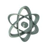Atom 3d Symbol Stockbild