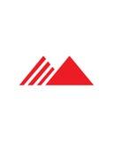 Eine Dreieckinitialenzusammenfassungs-Betriebsversicherungszusammenfassung stock abbildung