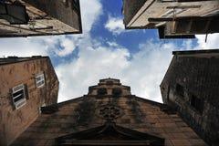 Eine Ecke der alten Stadt Lizenzfreie Stockbilder