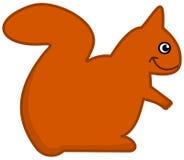 Eine Eichhörnchenikone Stockfoto