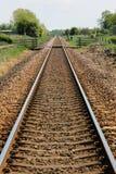 Eine eingleisige Eisenbahn Lizenzfreie Stockfotografie
