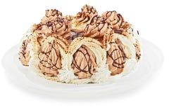 Eine Eiscreme ist ein Kuchen Stockbild