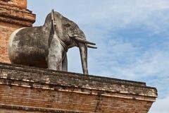 Eine Elefant-Statue Stockbilder