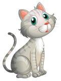 Eine entzückende Katze vektor abbildung