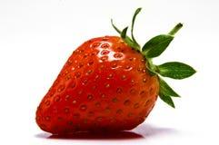 Eine Erdbeere Stockfotos