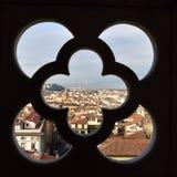 Eine extraodinary Ansicht von Florenz Stockfotos