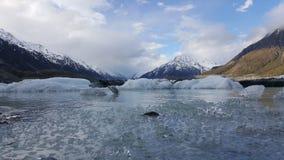 Eine extrem schöne Landschaft in Neuseeland stockfotos