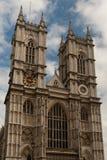 Eine Fassade von Westminster Abbey. Lizenzfreie Stockfotos