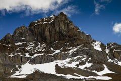 Felsige Bergspitze Stockbilder