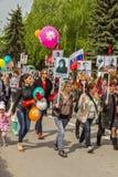 Eine festliche Demonstration eingeweiht Victory Day Pyatigorsk Stockfoto
