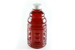 Eine Flasche Preiselbeersaft Lizenzfreies Stockbild