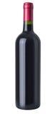 Eine Flasche Rotwein lizenzfreies stockbild