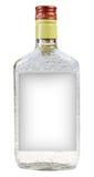 Eine Flasche Wodka Lizenzfreie Stockbilder