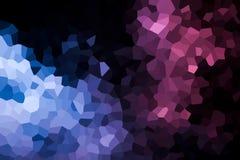 Eine Fotografie eines abstrakten geometrischen Musters stock abbildung
