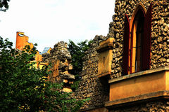 Eine Fotografie eines Schlosses Stockfotos