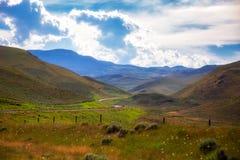 Eine Frühjahr Montana-Landschaft stockfoto