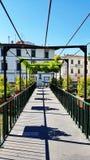 Eine Fußgängerbrücke in Florenz, Italien stockfotografie