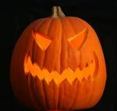 Eine furchtsame Jack-O-Laterne lizenzfreies stockbild