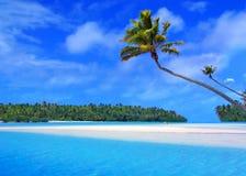 Eine Fuss-Insel lizenzfreies stockbild