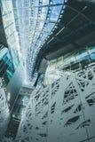 Eine futuristische Architektur in Mailand Stockfotos