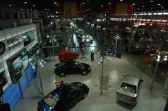 Eine Galaxie des berühmten Autoautoausstellungsstandorts Lizenzfreie Stockfotografie