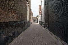 Eine Gasse in der Stadt stockfoto