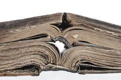Eine geöffnete Bibel. Lizenzfreie Stockbilder