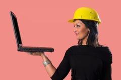 Eine Geschäftsfrau stockfotos
