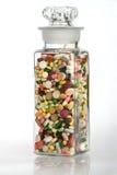 Eine gesunde Dosis von Medizin Stockfotos