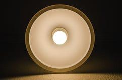 Eine glänzende Lampe lizenzfreie stockbilder