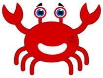Eine glückliche rote Krabbe Lizenzfreie Stockbilder