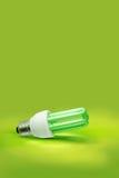 Eine grüne Leuchte Leuchtstoff Stockfoto