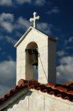 Eine griechische Kapelle stockfotografie